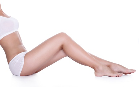 Perfect long legs with smooth skin
