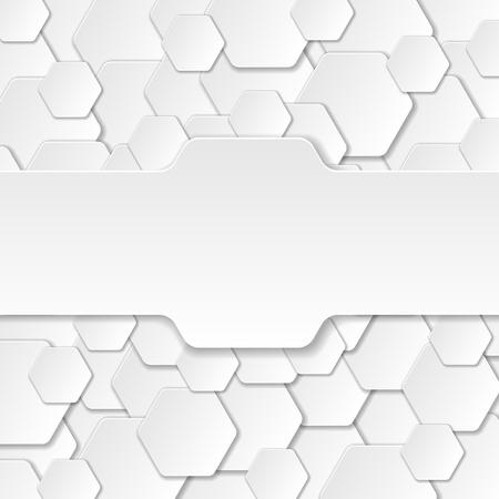 Neutral Paper Cut Background