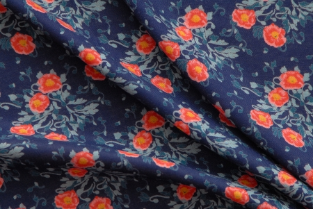 It is a old-fashioned cotton fabric