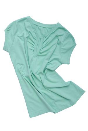 Photo pour drapery female tee-shirt   - image libre de droit