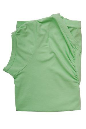 Photo pour folded tee shirt  - image libre de droit