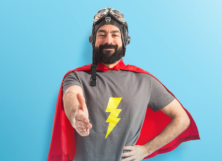 Superhero making a deal