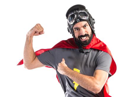 Foto de Strong Superhero - Imagen libre de derechos