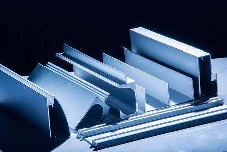 Photo for Aluminum profile for window, door, bathroom box - Royalty Free Image