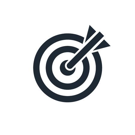 Illustration pour target icon - image libre de droit