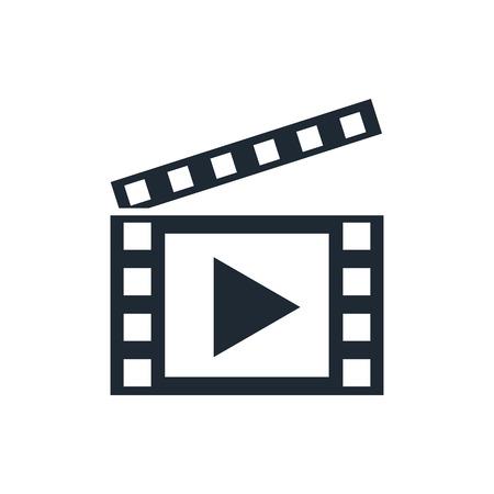 Ilustración de video icon - Imagen libre de derechos