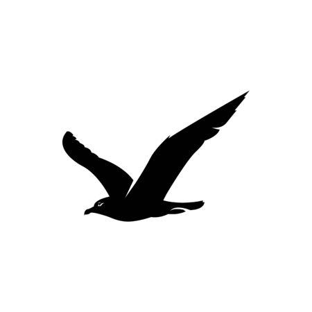 Illustration pour seagull vector illustration - image libre de droit