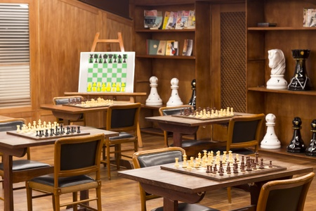 Chess club and treining board