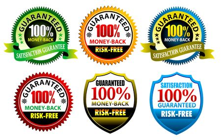 100% satisfaction Guaranteed Seal to use for website.