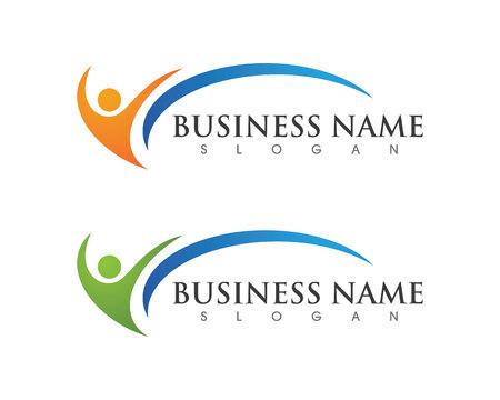 Ilustración de Healthy Life Logo Template - Imagen libre de derechos