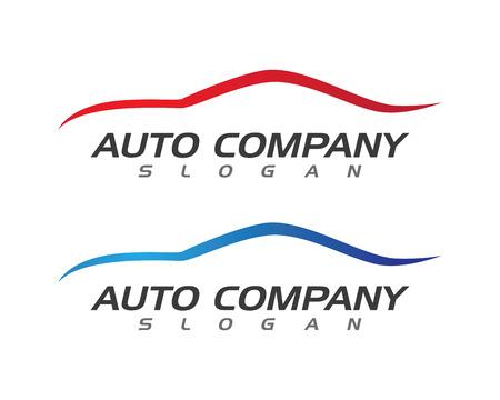 Illustration pour Auto car Logo Template - image libre de droit