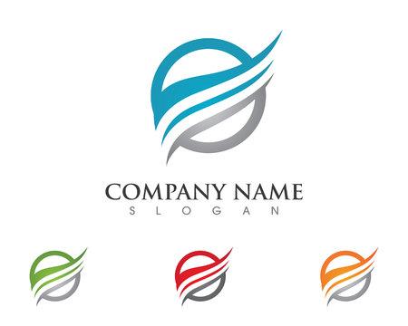 Ilustración de Faster Logo Template vector icon illustration design - Imagen libre de derechos