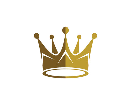 Illustration pour Crown Logo Template vector illustration - image libre de droit