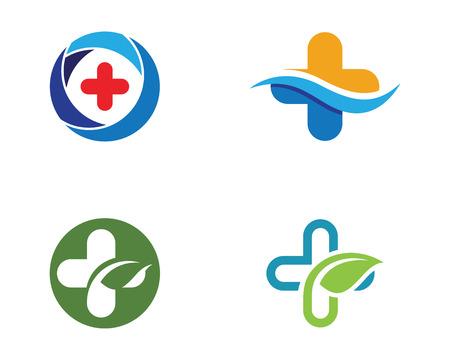 Vektor für Cloud Health Medical Logo Gen - Lizenzfreies Bild