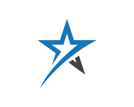 Illustration pour Star Logo Template vector icon illustration design illustration. - image libre de droit