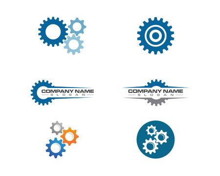Illustration pour Gear Logo Template vector icon illustration design - image libre de droit