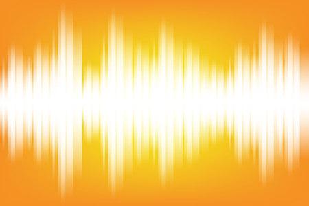 Illustration pour Sound wave light electromagnetic themed background illustration - image libre de droit