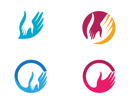Illustration pour Hand Care icon Template vector icon Business - image libre de droit