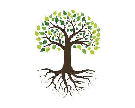 Illustration pour Tree icon template vector illustration design - image libre de droit