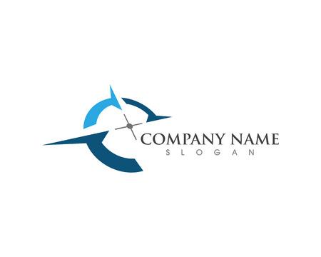 Illustration pour Compass Logo Template vector icon illustration design - image libre de droit
