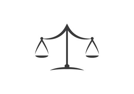 Illustration pour Law Logo Template vector icon illustration design - image libre de droit