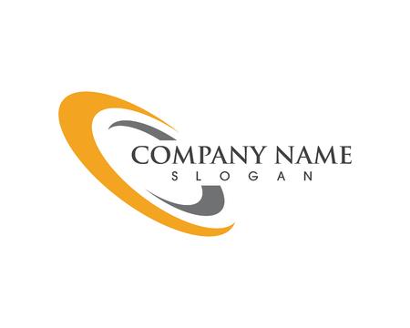 Illustration pour Circle illustration icon Logo Template design - image libre de droit