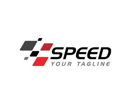 Ilustración de Race flag icon, simple design illustration vector - Imagen libre de derechos