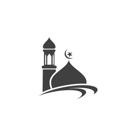 Illustration pour Moslem icon vector Illustration design template - image libre de droit