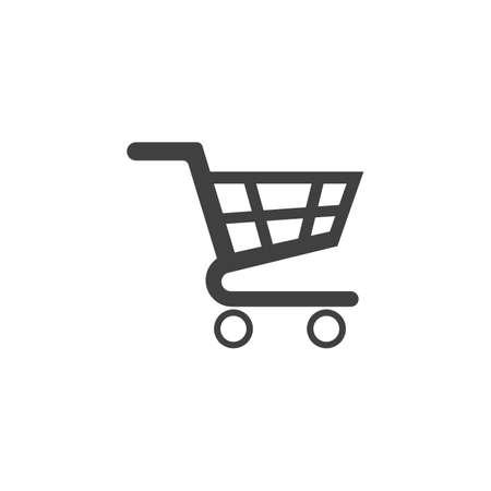 Illustration for Basket vector icon, Shopping Sign Online shop or e-shop concept - Royalty Free Image