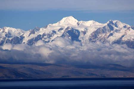 Mount Illimani, Isla del Sol, Bolivia