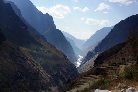 Tiger Leaping Gorge  hutiaoxia  near Lijiang, Yunnan Province, China