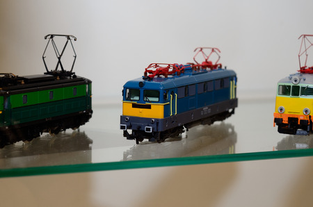 Toy locomotive train model