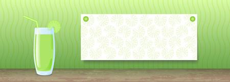 Juice Banner. Celery