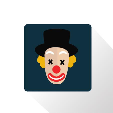 Color clone face icon
