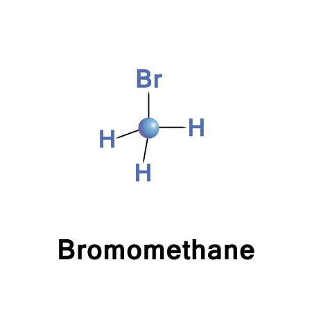 Bromomethane, commonly known as methyl bromide, is an organobromine compound with formula CH3Br. This colorless, odorless, nonflammable gas is produced both industrially and particularly biologically