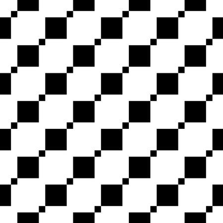 Seamless geometric pattern. Diagonal squares. Vector repeating texture