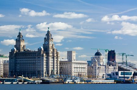 liverpool unesco water front on the pier head