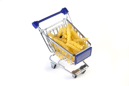 shopping cart with fusili