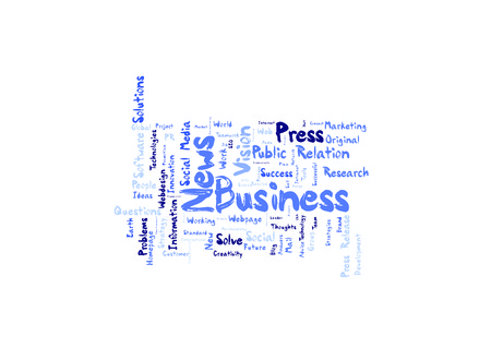 Business News word cloud