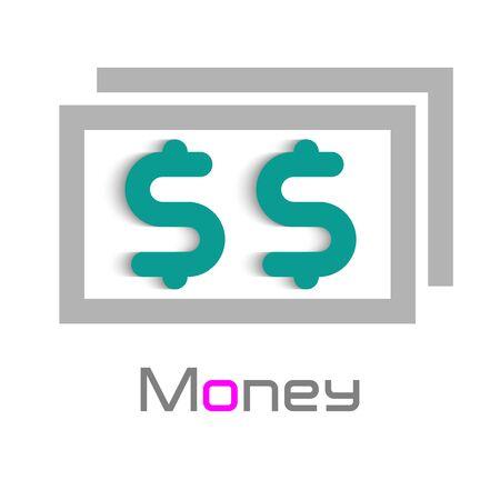 Money Logo Design Element Royalty Free Vector Graphics
