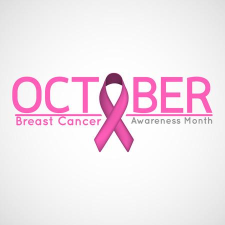 Ilustración de Breast Cancer Awareness Month vector icon illustration - Imagen libre de derechos