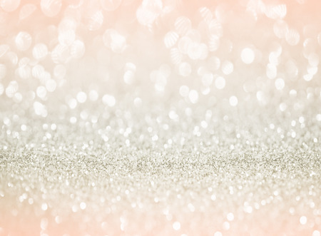 Foto de rose gold glitter bokeh texture background - Imagen libre de derechos