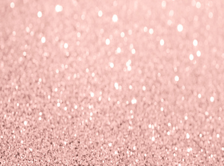 Foto per rose gold glitter bokeh texture background - Immagine Royalty Free