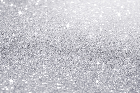Photo pour white silver glitter texture christmas abstract background - image libre de droit