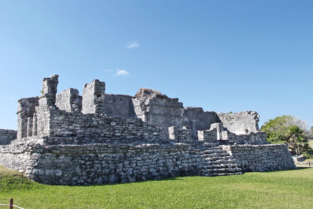 Ancient Mayan Ruins In Tulum