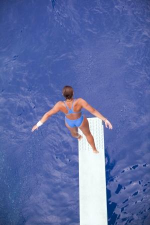 springboard diver