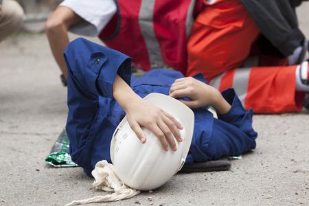 Photo pour Work accident - image libre de droit