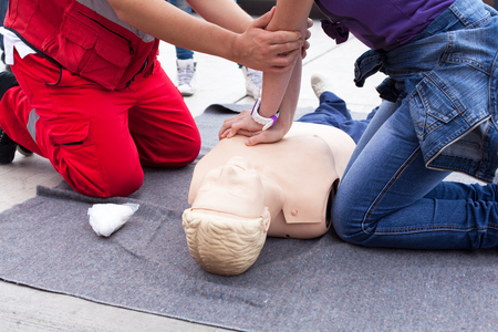 CPR. First aid.