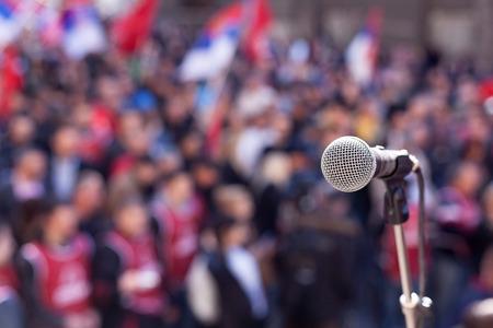 Foto de Protest. Public demonstration. - Imagen libre de derechos