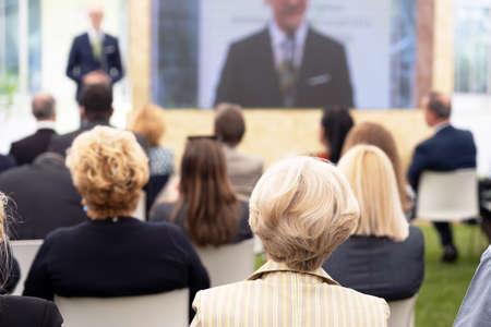 Photo pour Business presentation or professional conference - image libre de droit